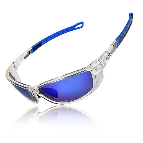 O2O [Polarized Sports Sunglasses [Tr90] Frame [One of The Lightest Sports Sunglasses] Only 0044 Lb for Running Golf Driving Baseball Cycling Fishing Men Women Teens Youth